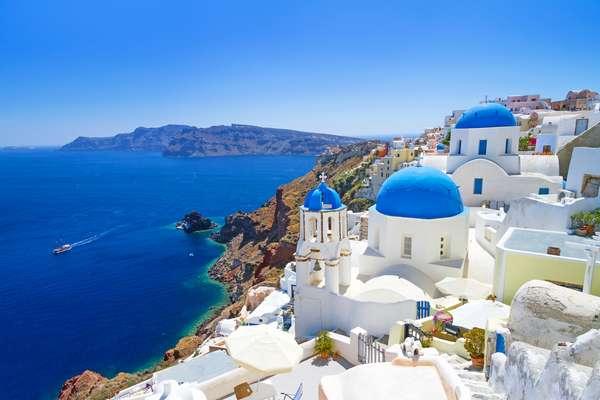 Ilhas Gregas são bom destino para visitar no outono