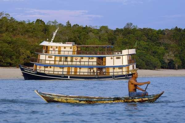 Novos cruzeiros vão explorar o rio Amazonas