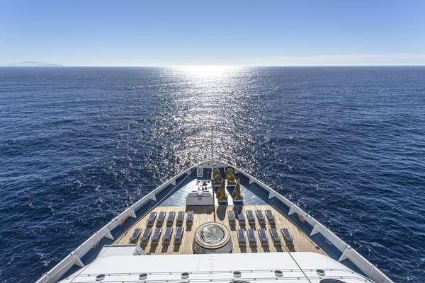 Ao contrário do que muitos pensam, navios de cruzeiros balançam durante a viagem