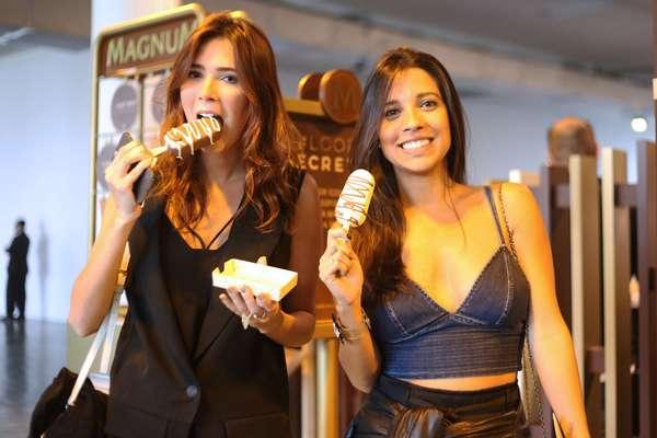 Martha Pinel, Produtora de Moda, 24 anos (esquerda) Bruna Lassery, Produtora de moda, 28 anos