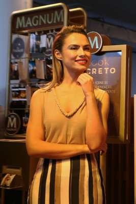 Patricia Bonaldi criou o Look Secreto exclusivamente para Magnum
