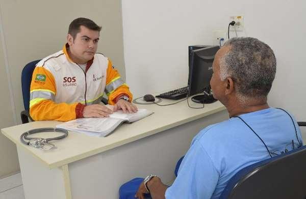 Consultas médicas estão entre os serviços prestados
