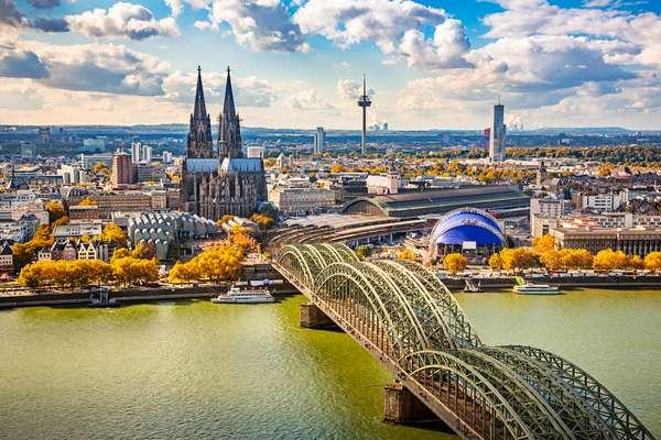 Cidades como Colônia, na Alemanha, são destaques de roteiro fluvial na Europa Central