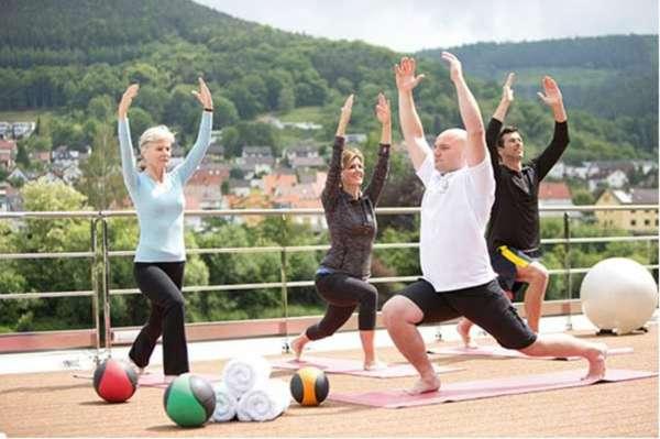 Bem-estar e exercícios são foco de novo programa em cruzeiros de luxo