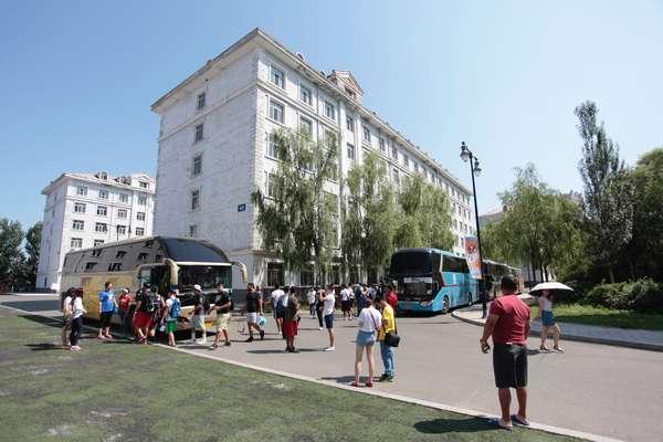 México conoce la Universidad de Harbin