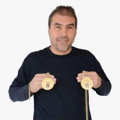Alexandre Rosa tem 45 anos e jogou no Palmeiras entre 1990 e 1994