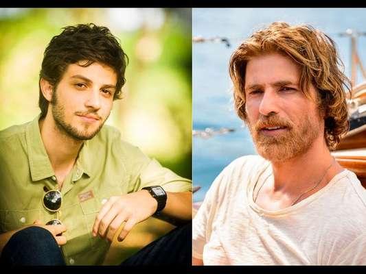 Chay Suede é Pedro na primeira fase da novela 'A Lei do Amor' e Reynaldo Gianecchini assume o personagem na segunda fase, após 20 anos