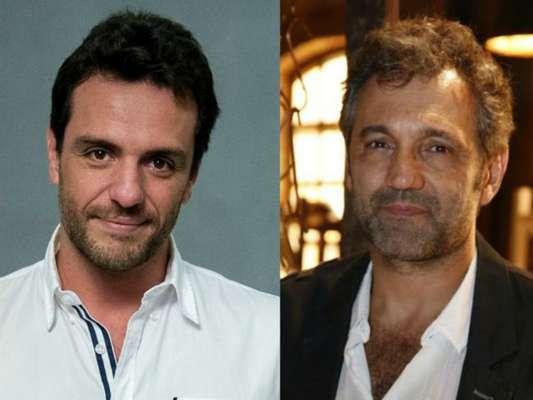 Rodrigo Lombardi faz homenagem a Domingos Montagner ao gravar série no último domingo, 23 de setembro de 2016