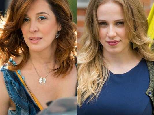 Salete (Claudia Raia) discute com Jéssica (Marcella Rica) após descobrir que a filha está se prostituindo, na novela 'A Lei do Amor', a partir de 22 de novembro de 2016