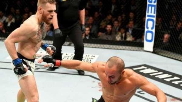 Conor fez história no UFC 205