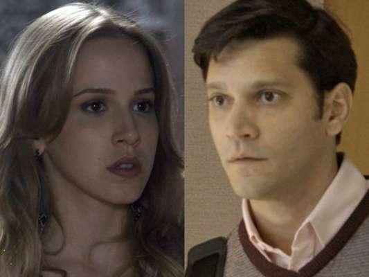 Jéssica (Marcella Rica) confessa para Bruno (Armando Babaioff) que foi agredida por Tião (José Mayer), na novela 'A Leido Amor', em novembro de 2016