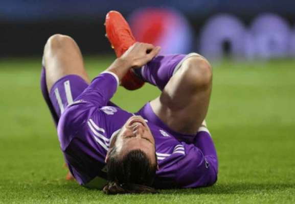 Bale se lesionou contra o Sporting