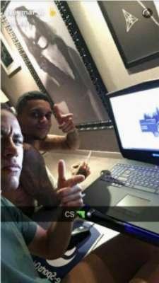 Neymar tem enorme quadro de Marquezine em sua mansão