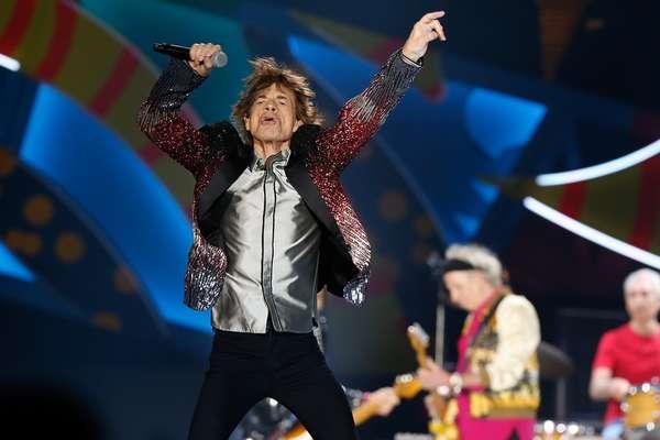 3 DE FEBRERO: La banda británica de rock The Rolling Stones se presento esta noche en el Estadio Nacional de Chile en su gira Ole tour 2016.