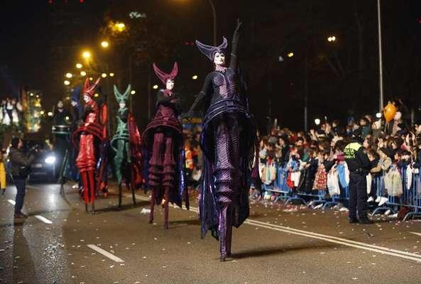 Los Reyes Magos llegan a Madrid