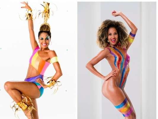 Erika Moura, a Globeleza, aprova vinheta de Carnaval e pondera: 'Nunca fiquei desconfortável nua'. Declaração foi feita nesta terça-feira, 10 de janeiro de 2017
