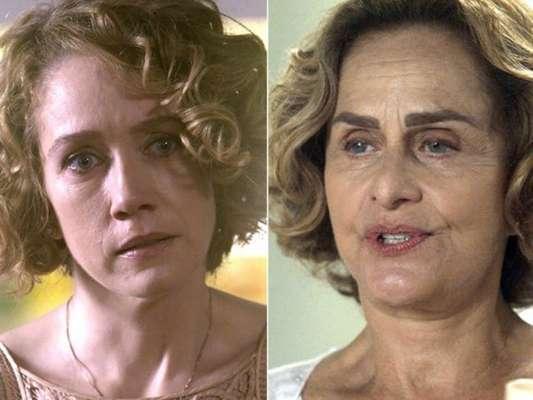 Vitória (Camila Morgado) conta a Silvia (Regina Braga) que foi casada com Ciro (Thiago Lacerda) durante 20 anos e que a Maria que ela conheceu, na verdade é sua mãe, Magnólia (Vera Holtz), em janeiro de 2017, na novela 'A Lei do Amor'