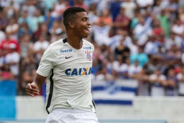 Carlinhos marcou seis gols pelo Corinthians nesta Copinha