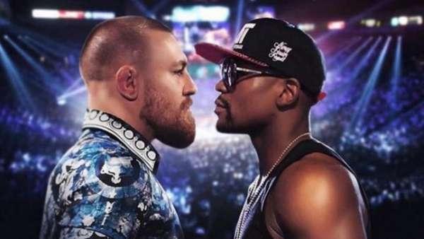 Montagem de Conor McGregor x Floyd Mayweather circula na internet