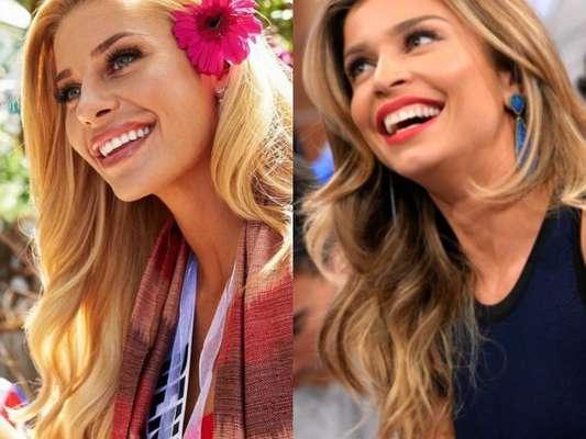 A Miss Dinamarca impressionou os fãs de Grazi Massafera pela sua semelhança com a atriz