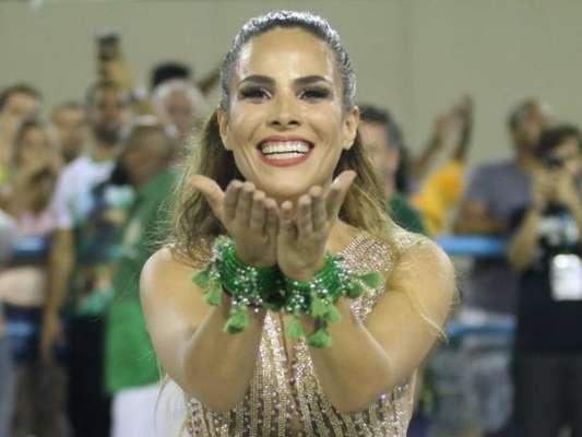 Wanessa Camargo vai realizar o sonho de desfilar pela Mocidade Independente de Padre Miguel, sua escola do coração, no Carnaval 2017