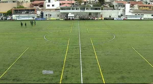 Estádio Camilo Mussi é de propriedade do Almirante Barroso, clube que voltou à elite do Catarinense nesta temporada