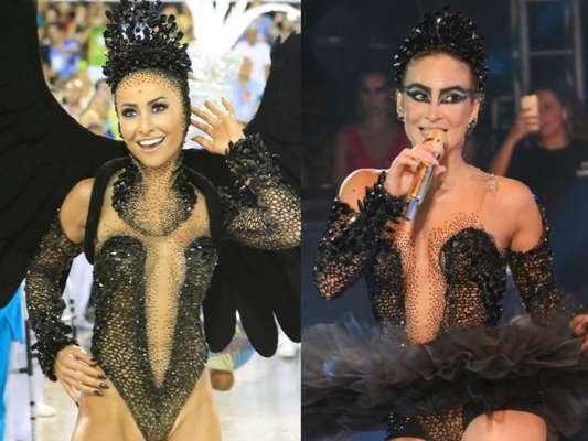 Claudia Leitte ou Sabrina Sato? Quem vestiu melhor o body de Cisne Negro?