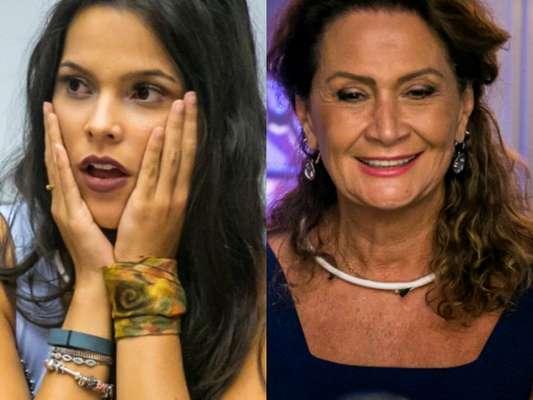 No 'Big Brother Brasil 17', Emilly se recusa a almoçar e fala mal da comida de Ieda