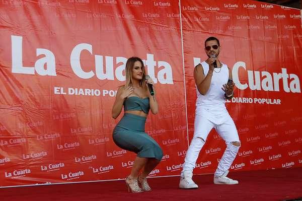 La presentación de Gala en el diario La Cuarta
