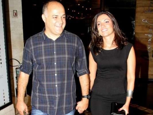 Patricia Poeta vive crise no casamento com diretor Amauri Soares, diz colunista na tarde desta quinta-feira, 16 de fevereiro de 2017
