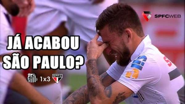 Os melhores memes da vitória do São Paulo sobre o Santos