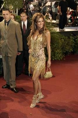 Ninel Conde - 26 de febrero de 2004, alfombra roja de Premios Lo Nuestro A La Música Latina.