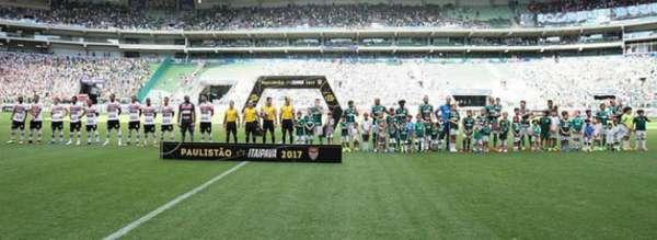 Palmeiras 1x0 Botafogo: R$ 956.093,06 líquidos