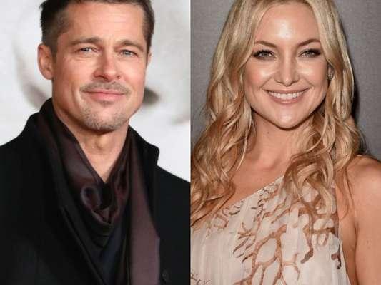 Brad Pitt e Kate Hudson estão morando juntos em Hollywood