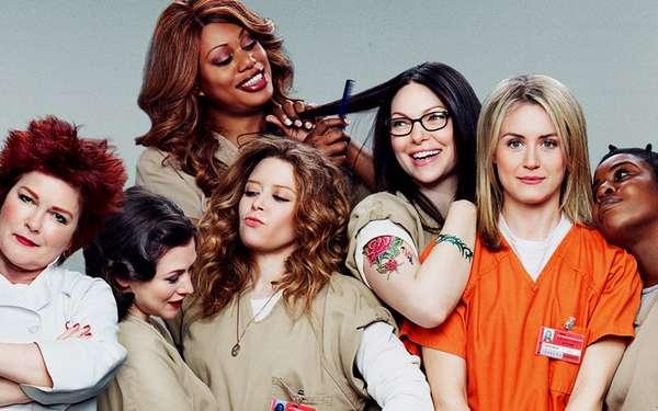 """O seriado """"Orange Is The New Black"""" aborda o dia a dia de uma prisão feminina. Produzida pela Netflix, a série já tem quatro temporadas disponíveis. Com personagens marcantes e histórias dramáticas, não faltam polêmicas ao longo dos episódios. A série já ganhou diversos prêmios, inclusive seus atores."""