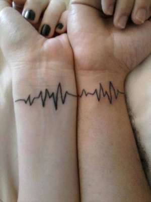 Esse cardiograma é perfeito para eternizar laços de coração ♥
