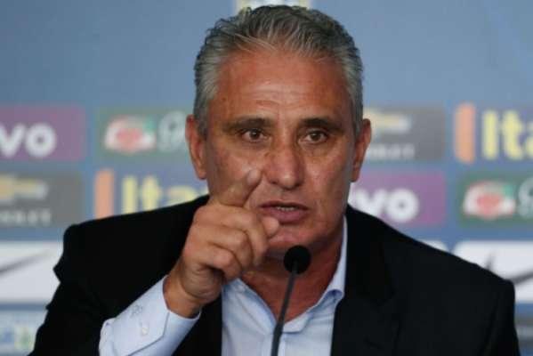 Técnico Tite, durante convocação da Seleção Brasileira nesta sexta