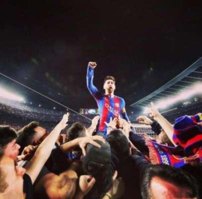 Messi marcou um dos gols do 'Milagre do Camp Nou'