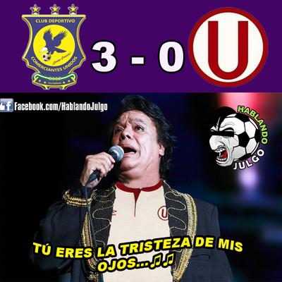 Los memes de la derrota de Universitario