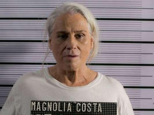 Mág (Vera Holtz) é presa, na novela 'A Lei do Amor', em 20 de março de 2017