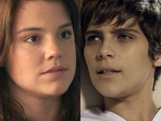 Marina (Alice Wegmann) provoca desmaio de Letícia (Isabella Santoni) ao revelar que Mág (Vera Holtz) sequestrou Helô (Claudia Abreu), nos últimos capítulos da novela 'A Lei do Amor'