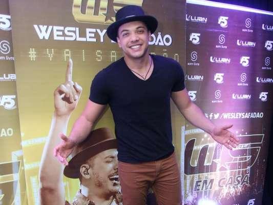 A Rádio Transamérica negou 'boicote' a Wesley Safadão nesta quinta-feira, 16 de março de 2017