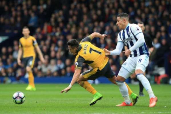 West Bromwich 3 x 1 Arsenal