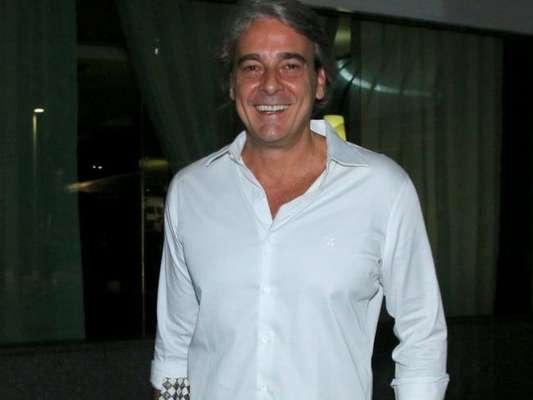Alexandre Borges se submeterá a uma cirurgia, em abril, por causa de um problema no quadril