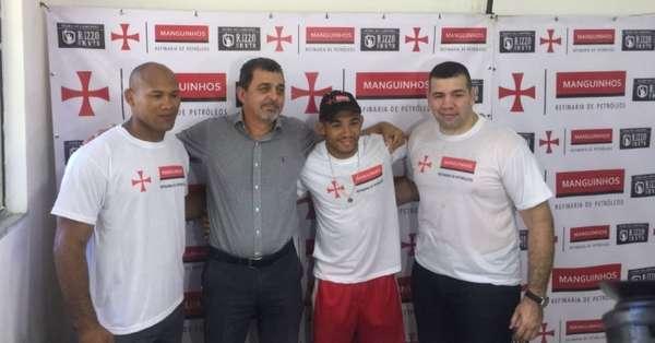 Ronaldo Jacaré, Jorge Monteiro (Presidente da Refinaria de Manguinhos), José Aldo e Pedro Rizzo