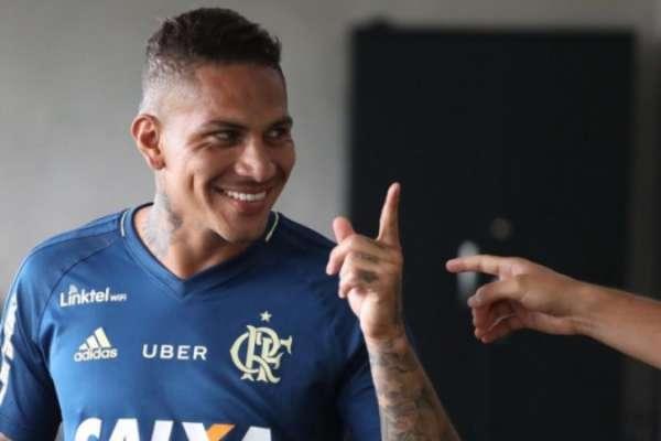Guerrero está de volta ao Flamengo