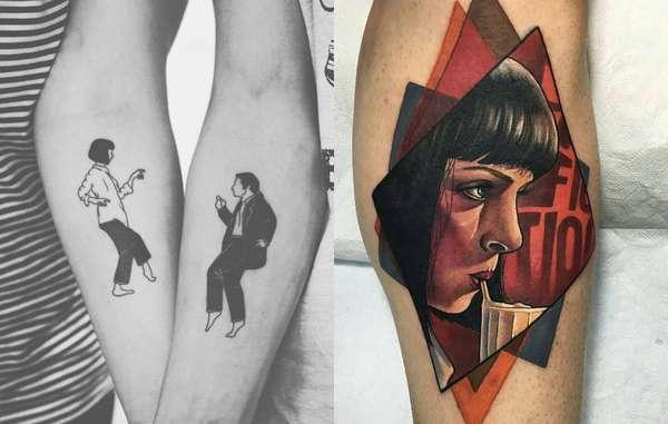 24 tatuagens incríveis que foram inspiradas em filmes dos anos 90