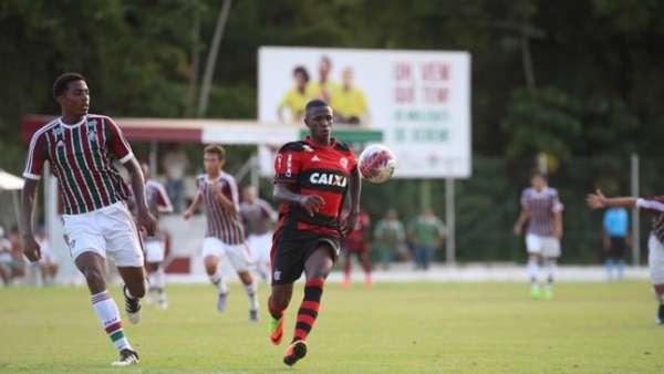 Fluminense x Flamengo - sub 20