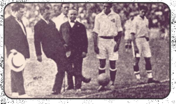 Especial 90 anos de São Januário - Pontapé inicial na inauguração do estádio