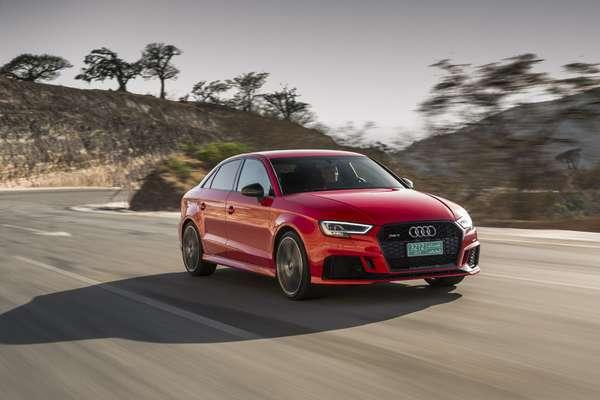Audi RS 3 para EEUU